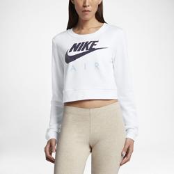 Женский свитшот Nike Sportswear ModernЖенский свитшот Nike Sportswear Modern с укороченной конструкцией обеспечивает удобную свободную посадку.<br>