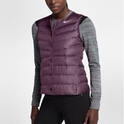 Женский жилет для гольфа Nike AeroLoftЖенский жилет для гольфа Nike AeroLoft помогает поддерживать комфортную температуру тела в переменчивую погоду на поле и за его пределами.  ТЕПЛО  Легкий и теплый наполнитель Nike AeroLoft и зональная вентиляция для оптимальной функциональности в холодную погоду.  ОПТИМАЛЬНАЯ ВОЗДУХОПРОНИЦАЕМОСТЬ  Лазерная перфорация обеспечивает воздухопроницаемость и предотвращает перегрев.  КОМФОРТ  Водоотталкивающий внешний слой для защиты в непогоду.<br>