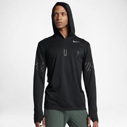 Мужская беговая худи Nike MilerМужская беговая худи Nike Miler из влагоотводящей ткани обеспечивает комфорт на протяжении всей пробежки.<br>