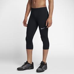 Мужские беговые тайтсы длиной 3/4 Nike RunМужские беговые тайтсы длиной 3/4 Nike Run обеспечивают оптимальную поддержку и вентиляцию благодаря компрессионной ткани и вставкам из сетки в ключевых зонах.<br>