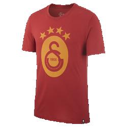 Мужская футболка Galatasaray S.K. CrestМужская футболка Galatasaray S.K. Crest из мягкого хлопка обеспечивает длительный комфорт на трибунах и на улице.<br>