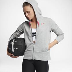 Женская худи для тренинга Nike DryЖенская худи для тренинга Nike Dry из влагоотводящей ткани обеспечивает вентиляцию и комфорт во время тренировок.<br>