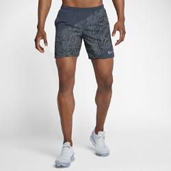 Мужские беговые шорты с принтом Nike Distance 18 смМужские беговые шорты с принтом Nike Distance 18 см дополнены подкладкой для легкости и поддержки от старта до финиша.<br>