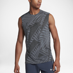 Мужская беговая майка с логотипом Nike TailwindМужская беговая майка с логотипом Nike Tailwind с конструкцией из сетки обеспечивает оптимальную вентиляцию и комфорт во время бега.<br>