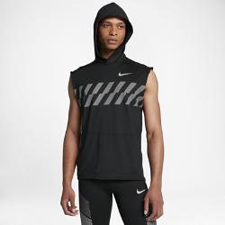 Мужская беговая худи без рукавов NikeМужская беговая худи без рукавов Nike — идеальный верхний слой из влагоотводящей ткани, который обеспечивает комфорт и свободу движений.<br>