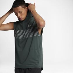 Мужская беговая худи без рукавов Nike SeasonalМужская беговая худи без рукавов Nike Seasonal — идеальная модель из влагоотводящей ткани для комфорта и свободы движений.<br>