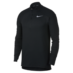 Мужская беговая футболка с длинным рукавом Nike ElementМужская беговая футболка с длинным рукавом Nike Element идеально подходит для пробежек в прохладную погоду, сохраняя тепло и препятствуя перегреву.Стандартный крой повторяет изгибы тела, обеспечивая свободную и удобную посадку.  Тепло и вентиляция  Ткань с более открытым плетением на спине обеспечивает вентиляцию и не прилипает к телу. Молния до середины груди позволяет регулировать уровень вентиляции, обеспечивая защиту на пробежке и после нее.  Свобода движений  Отверстия для больших пальцев фиксируют рукава для дополнительной защиты в холодную погоду. Рукава покроя реглан и швы, повторяющие форму рук, для естественной свободы движений.  Отведение влаги  Мягкая ткань с технологией Dri-FIT отводит влагу от кожи на поверхность ткани, где она быстро испаряется.<br>
