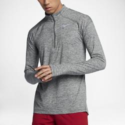 Мужская беговая футболка с длинным рукавом Nike ElementМужская беговая футболка с длинным рукавом Nike Element идеально подходит для пробежек в прохладную погоду, сохраняя тепло и препятствуя перегреву.Стандартный крой повторяет изгибы тела, обеспечивая свободную и удобную посадку.<br>