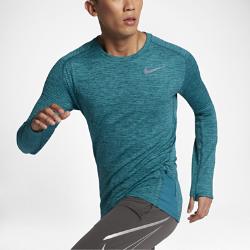 Мужская беговая футболка Nike Sphere ElementМужская беговая футболка Nike Sphere Element из термоткани с эргономичными швами обеспечивает тепло и естественную свободу движений во время бега.<br>
