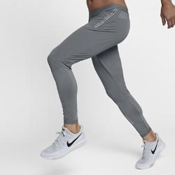 Мужские беговые брюки Nike Swift 68 смМужские беговые брюки Nike Swift 68 см позволяют ощущать комфорт, когда ты выходишь на пробежку, занимаешься повседневными делами или встречаешься с друзьями. Легкие эластичные материалы повторяют движения тела и отводят влагу, обеспечивая длительный комфорт. Зауженные штанины можно завернуть, чтобы создать яркий современный образ.  УНИВЕРСАЛЬНЫЙ ДИЗАЙН  Благодаря свободному крою от бедер до колен и менее облегающей посадке по сравнению с традиционными беговыми тайтсами можно не переодеваться после пробежки. Эластичная поддерживающая ткань Nike Power плотно прилегает в области икр, не смещаясь и не мешая во время движения.  ИННОВАЦИОННЫЕ КАРМАНЫ  Удобное расположение заднего кармана позволяет не вытаскивать телефон из кармана, даже когда ты сидишь. Специальный барьер предотвращает попадание влаги. Боковыекарманы на молнии, прикрепленные к изнаночной стороне брюк, позволяют надежно хранить ключи, бумажник и прочие важные мелочи.  КОМФОРТ  Технология Dri-FIT обеспечивает прохладу и комфорт, выводя влагу на поверхность ткани, где она быстро испаряется.<br>