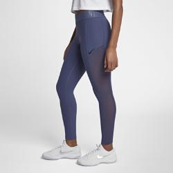 Женские теннисные тайтсы NikeCourt PowerЖенские теннисные тайтсы NikeCourt Power из ткани Nike Power обеспечивают поддержку и свободу движений во время тренировок. Перфорация по бокам усиливает циркуляцию воздуха.<br>