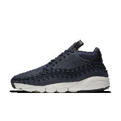 Мужские кроссовки Nike Air Footscape Woven Chukka SEМужские кроссовки Nike Air Footscape Woven Chukka SE среднего профиля с превосходным плетеным верхом и глубокими эластичными желобками обеспечивают естественную свободу движений.&amp;#160;<br>