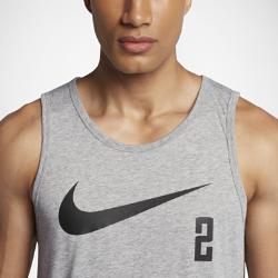 Мужская баскетбольная майка Nike Dry KyrieМужская баскетбольная футболка Nike Dry Kyrie из влагоотводящей ткани обеспечивает комфорт во время игры.<br>