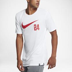 Мужская баскетбольная футболка Nike Dry KobeМужская баскетбольная футболка Nike Dry Kobe из влагоотводящей ткани с фирменными деталями обеспечивает комфорт.<br>