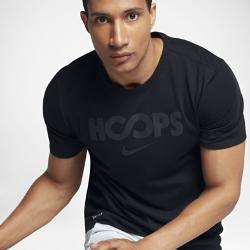 Мужская баскетбольная футболка Nike DryМужская баскетбольная футболка Nike Dry из влагоотводящей ткани обеспечивает комфорт.<br>