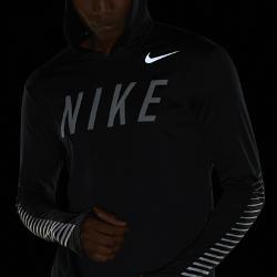 Мужская беговая худи Nike Miler FlashМужская беговая худи Nike Miler Flash — идеальная одеждадля защиты и комфорта во время пробежек прохладным утром или вечером. Влагоотводящая ткань с начесом на изнаночной стороне для невероятной мягкости. Светоотражающая графика на груди и рукавах делает тебя заметнее.<br>
