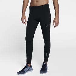 Мужские беговые тайтсы Nike Therma RunМужские беговые тайтсы Nike Therma Run из влагоотводящей термоткани обеспечивают тепло и комфорт, и их можно носить отдельно или в качестве базового слоя.<br>