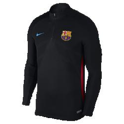Мужская игровая футболка FC Barcelona AeroSwift Strike DrillМужская игровая футболка FC Barcelona AeroSwift Strike Drill из дышащей эластичной ткани обеспечивает охлаждение, позволяя не снижать скорость во время игры.<br>