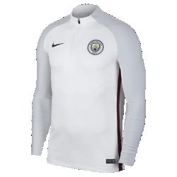 Мужская игровая футболка Manchester City FC AeroSwift Strike DrillМужская игровая футболка Manchester City FC AeroSwift Strike Drill из дышащей эластичной ткани обеспечивает охлаждение, позволяя играть на высокой скорости.<br>