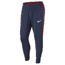 Мужские футбольные брюки Nike Flex Paris Saint-Germain StrikeМужские футбольные брюки Nike Flex Paris Saint-Germain Strike из эластичной воздухопроницаемой ткани обеспечивают естественную свободу движений на поле и за его пределами.<br>