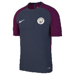 Мужская игровая футболка Manchester City FC AeroSwift StrikeМужская игровая футболка Manchester City FC AeroSwift Strike из дышащей эластичной ткани обеспечивает охлаждение, помогая развивать высокую скорость во время игры.<br>