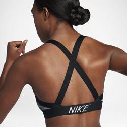 Спортивное бра с легкой поддержкой Nike Indy Logo BackСпортивное бра с легкой поддержкой Nike Indy Logo Back обеспечивает комфорт во время энергичных занятий с низкой нагрузкой, например ходьбы, тренировок с отягощением и йоги.  Свобода движений  Мягкие и эластичные перекрещивающиеся бретели обеспечивают свободу движений на любых занятиях. Такой же мягкий и эластичный пояс под грудью обеспечивает надежнуюудобную посадку.  Легкая поддержка  Ткань с легкой степенью компрессии и съемные вкладыши обеспечивают поддержку и выгодно подчеркивают форму груди.  Отведение влаги  Когда тренировка становится жаркой, ультрамягкая ткань джерси с технологией Dri-FIT отводит влагу от кожи и обеспечивает комфорт.<br>