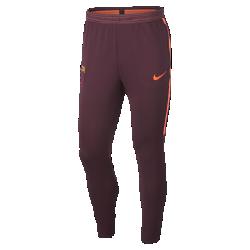 Мужские футбольные брюки FC Barcelona Dri-FIT StrikeМужские футбольные брюки FC Barcelona Dri-FIT Strike из влагоотводящей эластичной ткани обеспечивают свободу движений во время тренировок.<br>