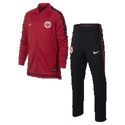 Футбольный костюм для школьников Eintracht Frankfurt Dry SquadФутбольный костюм для школьников Eintracht Frankfurt Dry Squad из влагоотводящей ткани с фирменными деталями обеспечивает комфорт.<br>