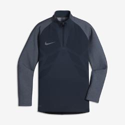 Игровая футболка для мальчиков школьного возраста Nike AeroSwift Strike DrillИгровая футболка для мальчиков школьного возраста Nike AeroSwift Strike Drill из дышащей эластичной ткани обеспечивает охлаждение, позволяя не снижать скорость во время игры.<br>