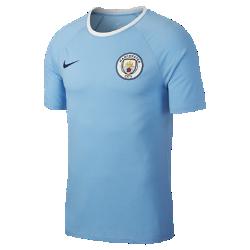 Мужская футболка Manchester City FC Dry MatchМужская футболка Manchester City FC Dry Match из мягкой влагоотводящей ткани украшена клубными деталями.<br>