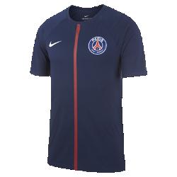 Мужская футболка Paris Saint-Germain Dry MatchМужская футболка Paris Saint-Germain Dry Match из мягкой влагоотводящей ткани украшена клубной символикой.<br>