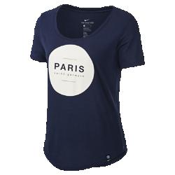 Женская футболка Paris Saint-Germain SquadЖенская футболка Paris Saint-Germain Squad из мягкой ткани обеспечивает длительный комфорт на трибунах и на улице.<br>