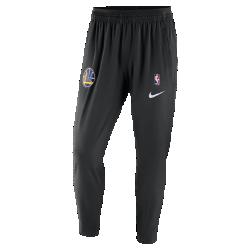Мужские брюки НБА Golden State Warriors Nike ShowtimeМужские брюки НБА Golden State Warriors Nike Showtime — это сочетание невероятного комфорта и аутентичного дизайна экипировки НБА для разминки. Легкий и эластичный тканый материал обеспечивает свободу движений на площадке и за ее пределами. Эластичность и комфорт Легкий и эластичный тканый материал с технологией Dri-FIT отводит влагу от кожи и обеспечивает комфорт. Удобная посадка Эластичные пояс и отвороты для удобной и надежной посадки при каждом движении. Надежное хранение Карман на молнии на штанине для надежного хранения телефона и других мелочей. Информация о товаре  Состав: 87% полиэстер/13% спандекс Машинная стирка Импорт<br>