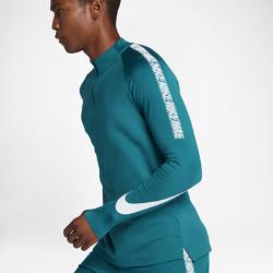 Мужская игровая футболка Nike Dry Squad DrillМужская игровая футболка Nike Dry Squad Drill из эластичной влагоотводящей ткани с рукавами покроя реглан обеспечивает комфорт и свободу движений на поле.<br>