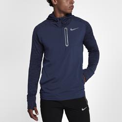 Мужская беговая худи Nike Therma Sphere Element HybridМужская беговая худи Nike Therma Sphere Element Hybrid обеспечивает тепло и комфорт на пробежках в холодное время года. Повседневный дизайн с молнией до середины груди дополнен удлиненными рукавами и капюшоном для дополнительного тепла.  Создано для комфорта  Отверстия для больших пальцев фиксируют удлиненные рукава, которые защищают руки от холода и позволяют обходиться без перчаток.  Тепло и комфорт  Мягкая, напоминающая флис ткань Nike Therma Sphere по всей поверхности удерживает тепло тела. Тканые накладки на груди и на спине защищают от ветра.  Надежное хранение  Нагрудный карман на молнии для надежного хранения пластиковых карт и наличных денег. В два боковых кармана можно быстро убрать мелкие вещи.<br>