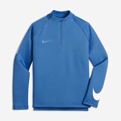 Игровая футболка для мальчиков школьного возраста Nike Dry Squad DrillИгровая футболка для мальчиков школьного возраста Nike Dry Squad Drill из влагоотводящей ткани обеспечивает комфорт.<br>
