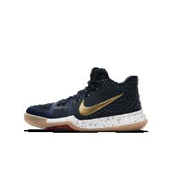 Баскетбольные кроссовки для школьников Kyrie 3Баскетбольные кроссовки для школьников Kyrie 3 с уникальной закругленной подметкой обеспечивают высокую скорость движений в любом направлении.<br>