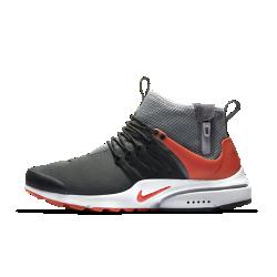 Мужские кроссовки Nike Air Presto Mid UtilityНовый уровень комфорта в холодную погоду: мужские кроссовки Nike Air Presto Mid Utility с эластичным плотно прилегающим верхом, теплым внутренним слоем, водоотталкивающей отделкой и превосходной системой сцепления.<br>