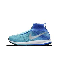 Беговые кроссовки для школьников Nike Zoom Pegasus All Out FlyknitБеговые кроссовки для школьников Nike Zoom Pegasus All Out Flyknit обеспечивают оптимальную посадку, комфорт и поддержку. Подошва из мягкого пеноматериала Cushlon и вставка Zoom Air дляупругой амортизации от старта до финиша.<br>