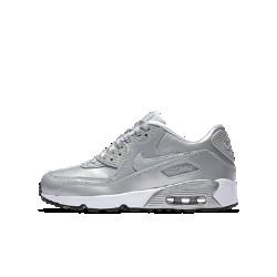 Кроссовки для школьников Nike Air Max 90 SE LeatherКроссовки для школьников Nike Air Max 90 SE Leather — новая версия легендарной модели с верхом из первоклассной кожи и ультралегкой гибкой подошвой.<br>