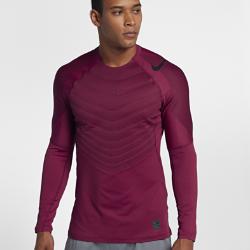 Мужская футболка для тренинга с длинным рукавом Nike Pro AeroLoftМужская футболка для тренинга с длинным рукавом Nike Pro AeroLoft обеспечивает вентиляцию и защиту от холода для тепла и комфорта во время тренировок в холодную погоду.<br>