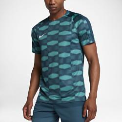 Мужская игровая футболка Nike Dry SquadМужская игровая футболка Nike Dry Squad из влагоотводящей ткани с вставками из сетки и рукавами покроя реглан обеспечивает комфорт и свободу движений на поле.<br>