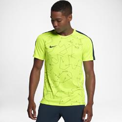Мужская футболка с коротким рукавом Nike Dry Neymar SquadМужская футболка с коротким рукавом Nike Dry Neymar Squad с фирменной графикой в стиле любимого игрока на мягкой влагоотводящей ткани обеспечивает длительный комфорт.<br>