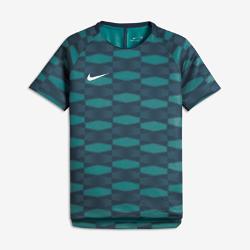 Игровая футболка с коротким рукавом для мальчиков школьного возраста Nike Dry SquadИгровая футболка с коротким рукавом для мальчиков школьного возраста Nike Dry Squad из влагоотводящей ткани с эргономичными швами обеспечивает комфорт и свободу движений.<br>