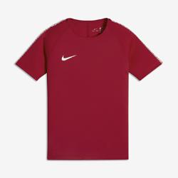 Игровая футболка для школьников Nike Breathe SquadИгровая футболка для школьников Nike Breathe Squad из влагоотводящей ткани с сетчатой вставкой на спине обеспечивает вентиляцию и комфорт на поле и за его пределами.<br>