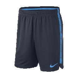 Мужские футбольные шорты Nike Dri-FIT SquadМужские футбольные шорты Nike Dri-FIT Squad из влагоотводящей ткани обеспечивают надежную посадку и позволяют ни на что не отвлекаться во время игры.  КОМФОРТ  Ткань Nike Dry отводит влагу от кожи на поверхность, где она быстро испаряется.  НАДЕЖНАЯ ПОСАДКА  Прорезиненный кант на внутренней стороне пояса фиксирует шорты во время бега, рывков и прыжков.<br>