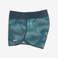 Беговые шорты с принтом для девочек школьного возраста Nike DryБеговые шорты с принтом для девочек школьного возраста Nike Dry из влагоотводящей ткани обеспечивают комфорт во время пробежки.<br>