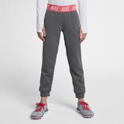 Брюки для тренинга для девочек школьного возраста Nike Dry Core StudioБрюки для тренинга для девочек школьного возраста Nike Dry Core Studio из влагоотводящей ткани обеспечивают комфорт.<br>