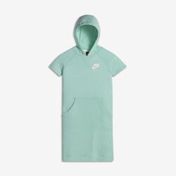 Платье для девочек школьного возраста Nike Sportswear VintageПлатье для девочек школьного возраста Nike Sportswear Vintage из мягкого смесового хлопка с капюшоном из нескольких панелей обеспечивает комфорт в любом месте и в любое время.<br>