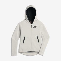 Худи с молнией во всю длину для девочек школьного возраста Nike Sportswear Tech FleeceХуди с молнией во всю длину для девочек школьного возраста Nike Sportswear Tech Fleece из инновационной ткани с современным силуэтом обеспечивает тепло и комфортную защиту.<br>